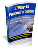 37 Ways To Prepare For College