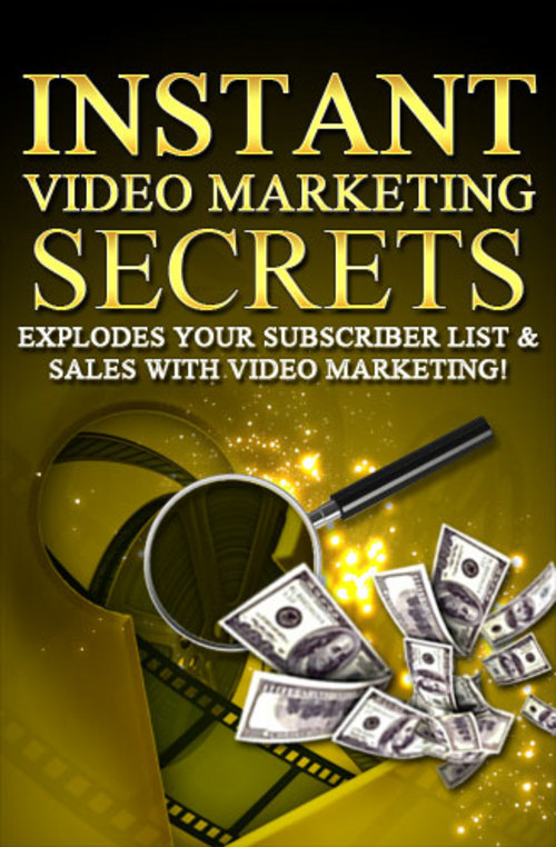 Product picture Video Marketing Secrets - Learn video marketing secrets