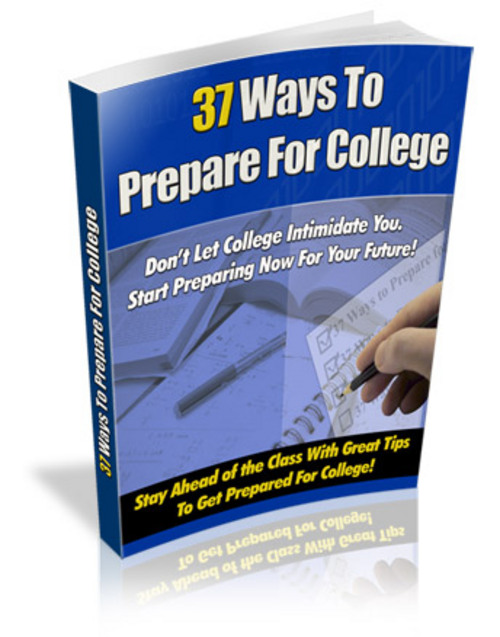 Product picture 37 Ways To Prepare For College